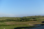 View from the clubhouse after the round (the fog cleared out for most of the Back Nine)